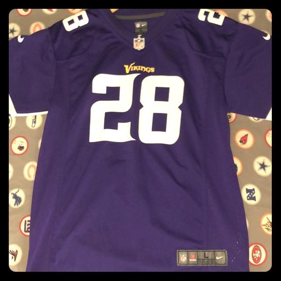 sale retailer be6e7 f28b6 Minnesota Vikings Adrian Peterson Jersey